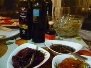 vino e mostarde