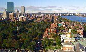 Boston dall'alto