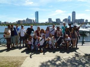 Italiani a Boston su Memorial Drive