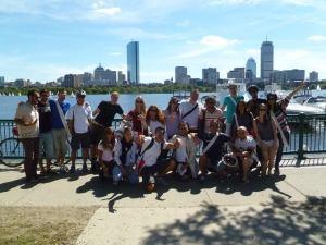 Italiani a Boston su Memorial Drive