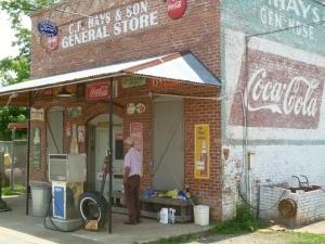 vecchia pompa di benzina americana